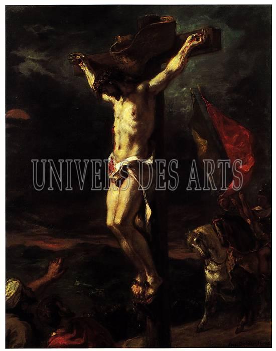 fichier:delacroix_eugene_christ_en_croix_1846.jpg