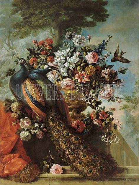 huilliot_pierre_nicolas_nature_morte_de_fleurs_avec_deux_paons.jpg