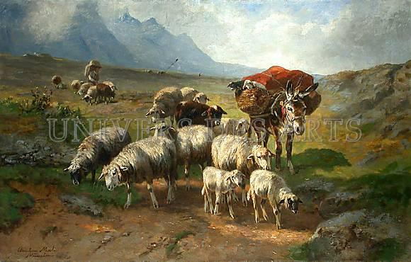 mali_christian_troupeau_de_moutons_avec_ane_et_berger_sur_un_plateau.jpg