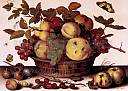Nature morte au panier de fruits