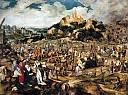 Le Christ sur la route du Calvaire