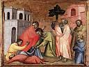 Saint John l'Évangéliste buvant la tasse empoisonnée