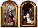 Diptyque La Vierge dans l'Eglise et Christiaan de Hondt