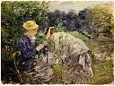 fichier:morisot berthe dame cueillant des fleurs 1879.jpg