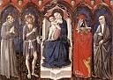 Madone � l'Enfant avec quatre saints