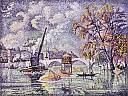 fichier:signac paul le pont royal inondations paris .jpg