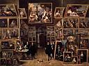 L'archiduc Leopold Wilhelm dans sa galerie