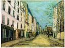 Rue Marcadet � Montmartre