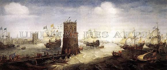 wieringen_cornelis_van_un_navire_de_haarlem_rompt_les_chaines_du_port_de_damiette.jpg